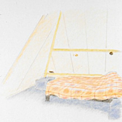 Schets Interieurdesign